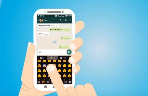 Emoji клавиатура