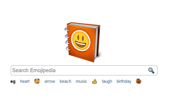 Сайт EmojiPedia