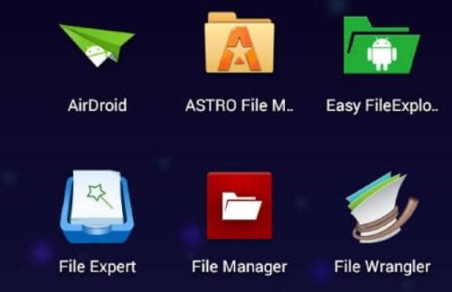 Файловые менеджеры Android