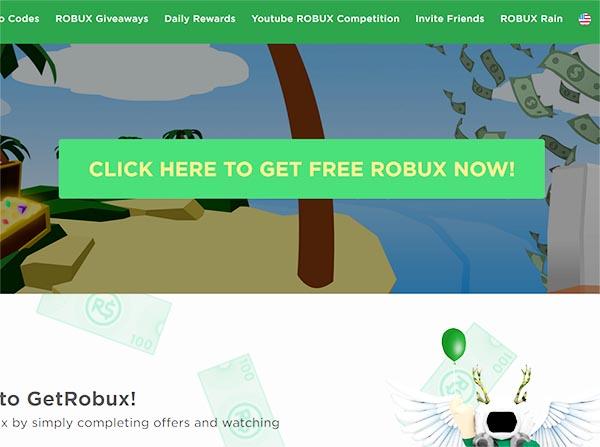 Сайт GeRobux
