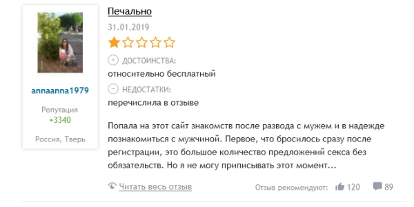 Отрицательные отзывы Tabor.ru
