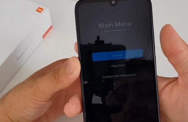 Wipe Data в Xiaomi