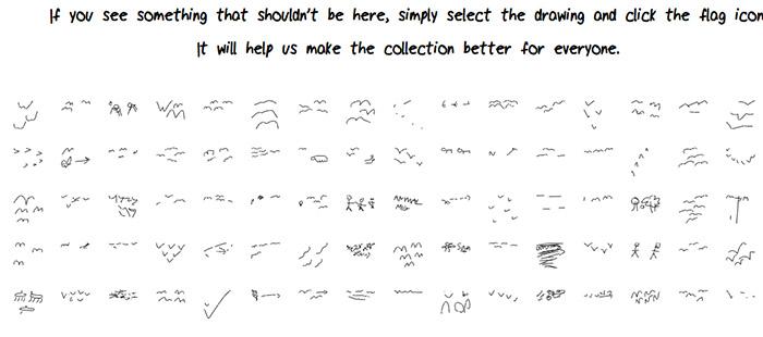 Так рисуют пользователи миграцию животных