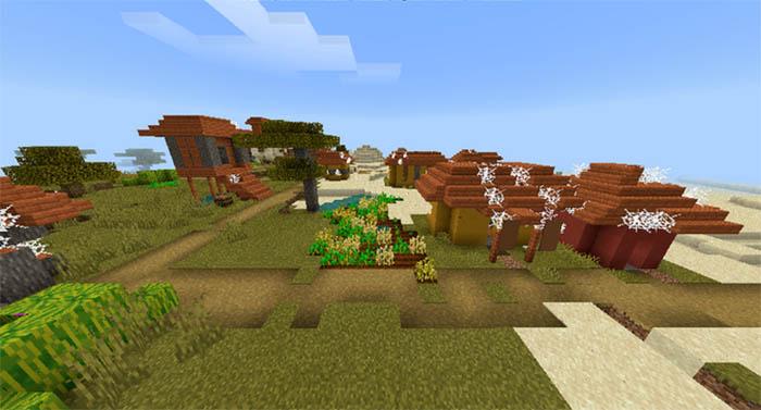 Деревня Minecraft