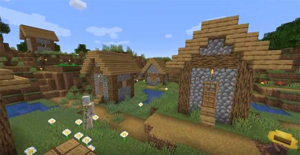 Деревня в Майнкрафте