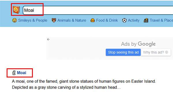 Moai в Emojipedia