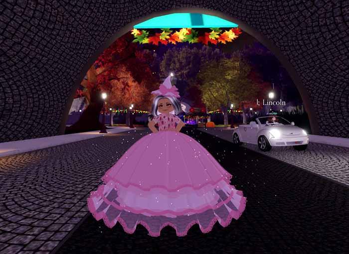 Красивое розовое платье аватарка для Тик Ток
