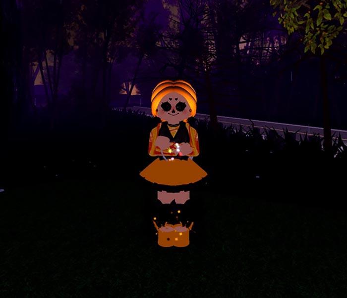 Образ из Хеллоуин в Roblox