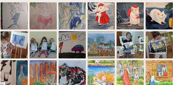 Галерея детских рисунков для авы