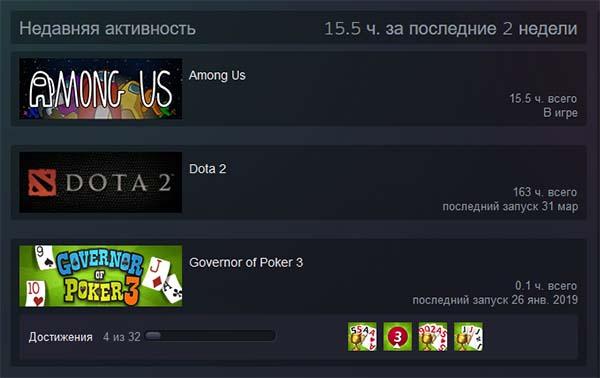 Амонг Ас в Steam