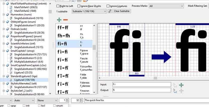Программа для создания шрифтов