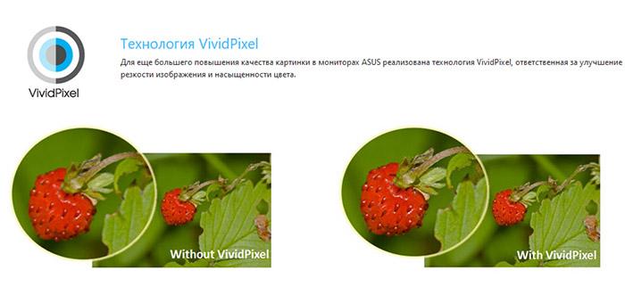 Пример работы функции VividPixel