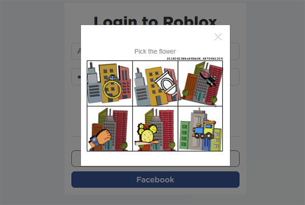 Пройти проверку на робота Roblox