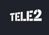 Логотип мобильного оператора Теле2