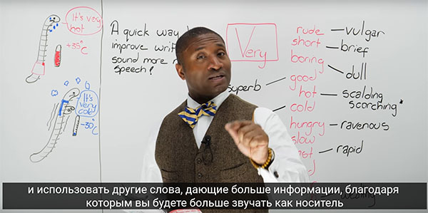 Видео с русскими субтитрами
