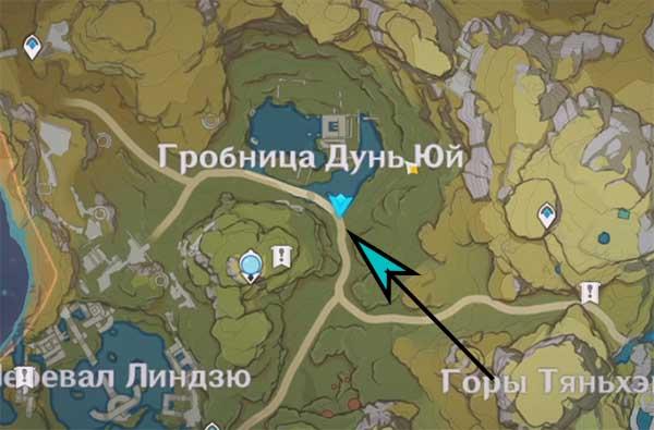 Лотос в водоёме Дунь Юй