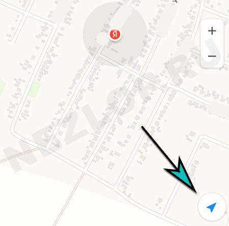 Точка на Яндекс.Карте