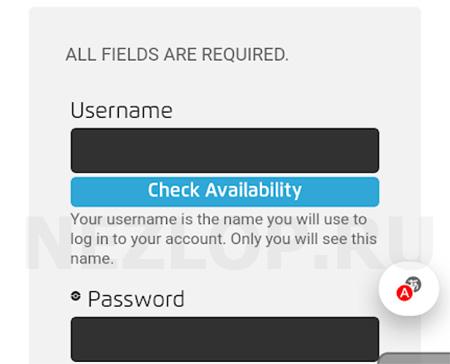 Регистрация не доступна